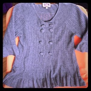 Sweaters - Pleated Cashmere and wool cashmere sweater